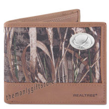 Load image into Gallery viewer, Cotton Logo Zep Pro Bifold Wallet REALTREE MAX-5 Camo