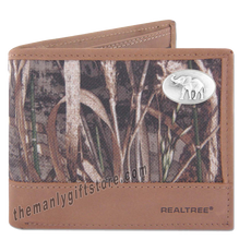 Load image into Gallery viewer, Elephant Alabama Zep Pro Bifold Wallet REALTREE MAX-5 Camo