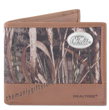 Load image into Gallery viewer, Ole Miss Rebels Zep Pro Bifold Wallet REALTREE MAX-5 Camo