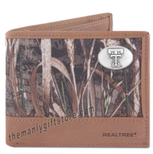 Load image into Gallery viewer, Texas Tech Red Raiders Zep Pro Bifold Wallet REALTREE MAX-5 Camo