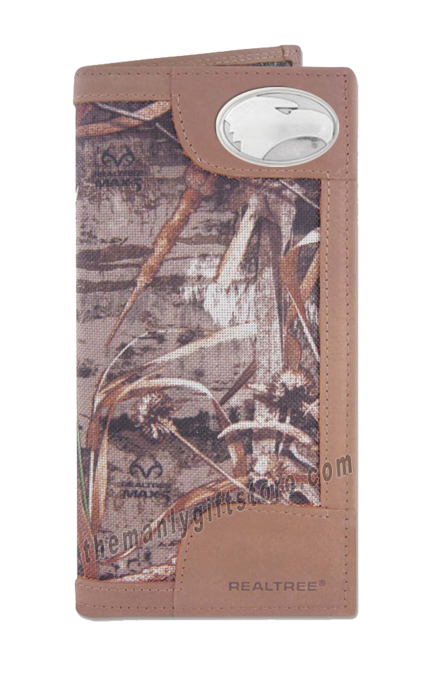 Georgia Southern Eagles Roper REALTREE MAX-5 Camo Wallet
