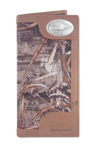 Marlin Fish Roper REALTREE MAX-5 Camo Wallet
