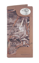 Load image into Gallery viewer, South Carolina Palmetto Tree Roper REALTREE MAX-5 Camo Wallet