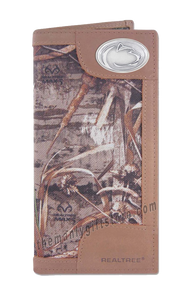 Penn State Nittany Lion  Roper REALTREE MAX-5 Camo Wallet