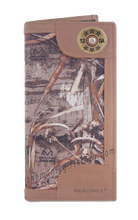Load image into Gallery viewer, Shotgun Shell Roper REALTREE MAX-5 Camo Wallet