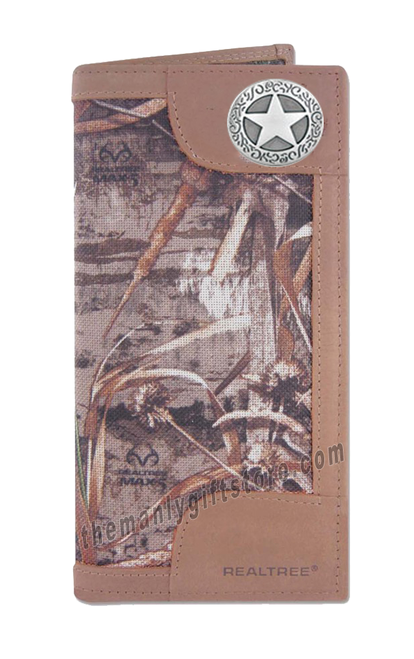 Texas Star Roper REALTREE MAX-5 Camo Wallet