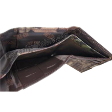 Load image into Gallery viewer, OSU Oklahoma State Mossy Oak Camo Trifold Nylon Wallet