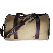 Load image into Gallery viewer, Memphis Zep Pro Waxed Canvas Weekender Duffle Bag