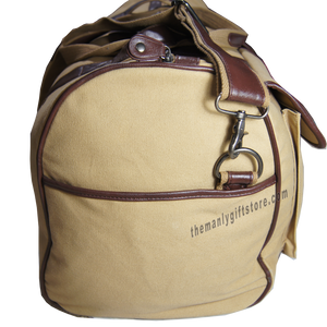 Redfish Zep Pro Waxed Canvas Weekender Duffle Bag