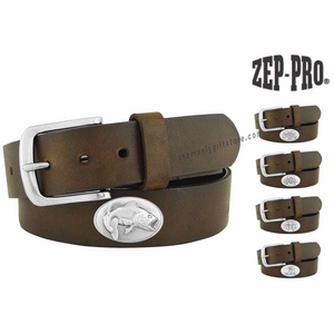 Bass Zep-Pro Leather Concho Belt