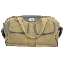 Load image into Gallery viewer, Baylor Zep Pro Waxed Canvas Weekender Duffle Bag