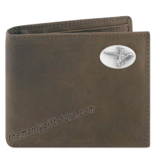 Load image into Gallery viewer, Flying Duck Genuine Crazy Horse Leather Bifold Wallet