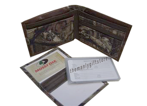 Saltwater Redfish Mossy Oak Camo Bifold Wallet