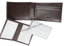 Load image into Gallery viewer, Kansas State Wrinkle Zep Pro Leather Bifold Wallet