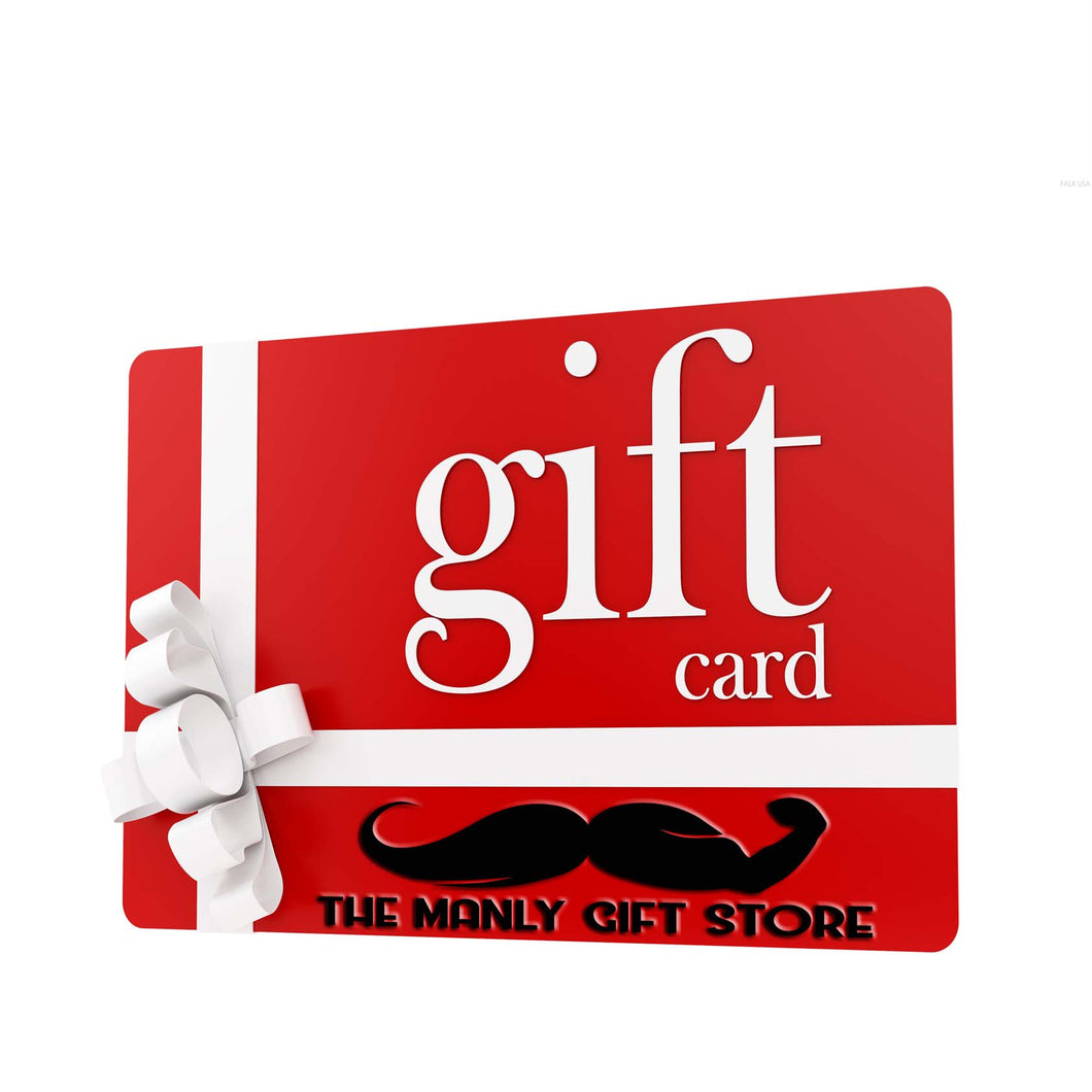 The Manly Store Gift - eGIFT CARDS