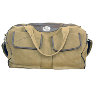 Alabama Elephant Zep Pro Waxed Canvas Weekender Duffle Bag