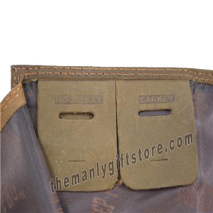 Penn State Nittany Lion Genuine Crazy Horse Leather Roper Wallet