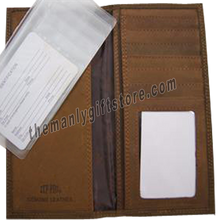 Load image into Gallery viewer, South Carolina Palmetto Tree Genuine Leather Roper Wallet
