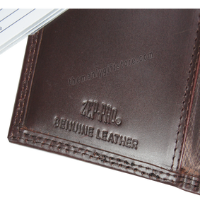 Georgia Southern Eagles Wrinkle Zep Pro Leather Roper Wallet