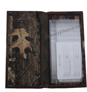 Alabama Crimson Tide Roper Mossy Oak Camo Wallet