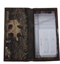 Load image into Gallery viewer, Arkansas Razorback Roper Mossy Oak Camo Wallet