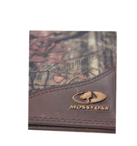 West Virginia Mossy Oak Camo Roper Wallet