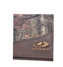 Load image into Gallery viewer, New Orleans Fleur De Lis Roper Mossy Oak Camo Wallet