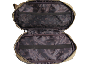 Labrador Zep Pro Khaki Canvas Concho Toiletry Bag