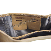Load image into Gallery viewer, Georgia Southern Eagles Crazy Horse Genuine Leather Trifold Wallet