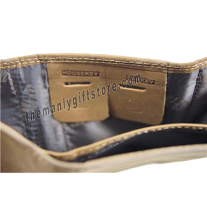 Georgia Southern Eagles Fence Row Camo Genuine Leather Trifold Wallet