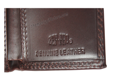 Load image into Gallery viewer, Elephant Mascot Alabama Wrinkle Zep Pro Leather Trifold Wallet