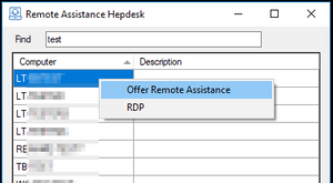 Remote Assistance Hepdesk