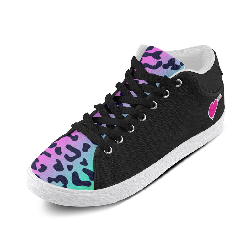 LISA MID TOP CANVAS GIRLS' SNEAKERS (sz 5-11)