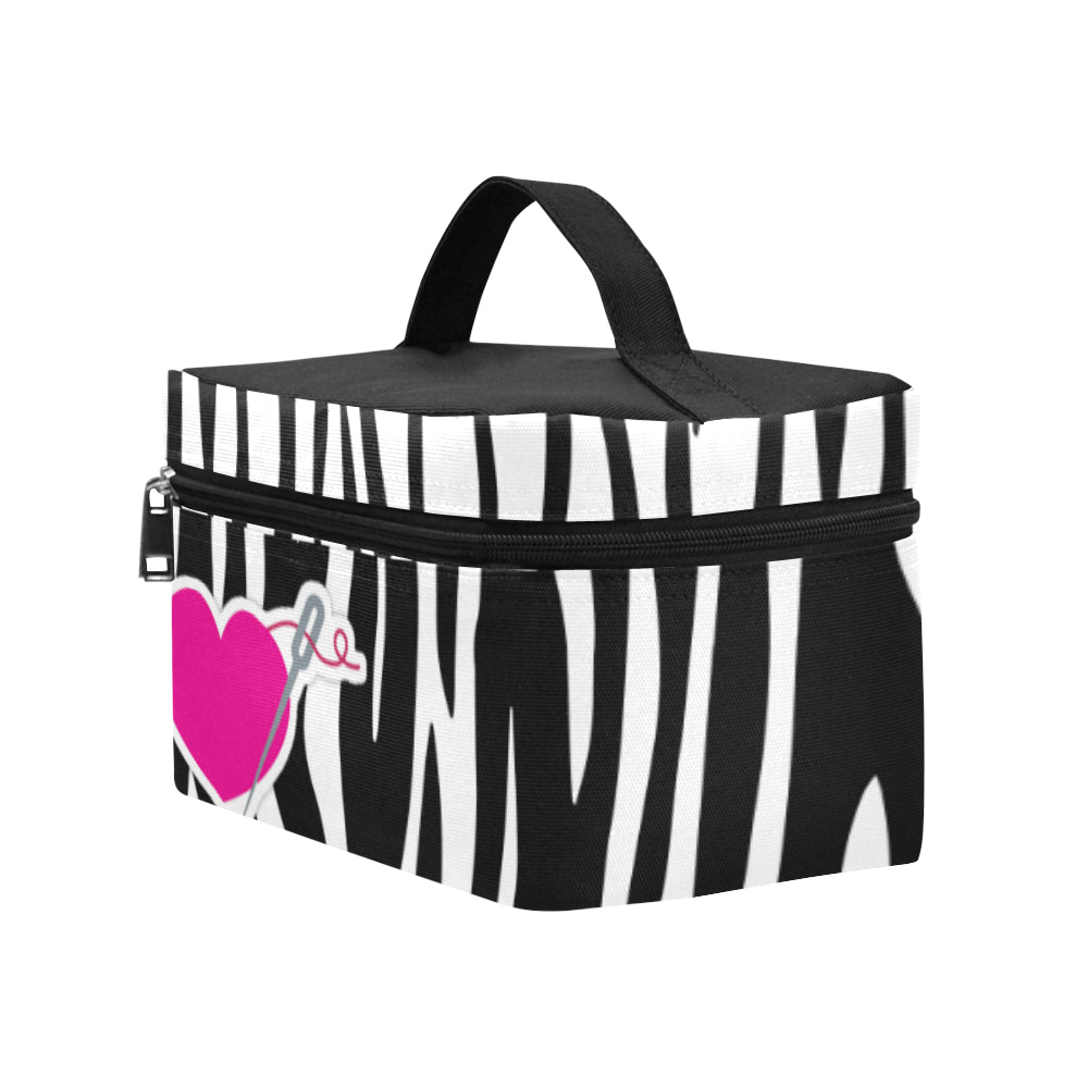 FASHION STRIPES LARGE LUNCH BAG