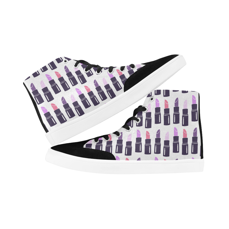 ROYAL LIPPIE HIGH ANKLE CANVAS GIRLS' SNEAKERS (sz 5-12)