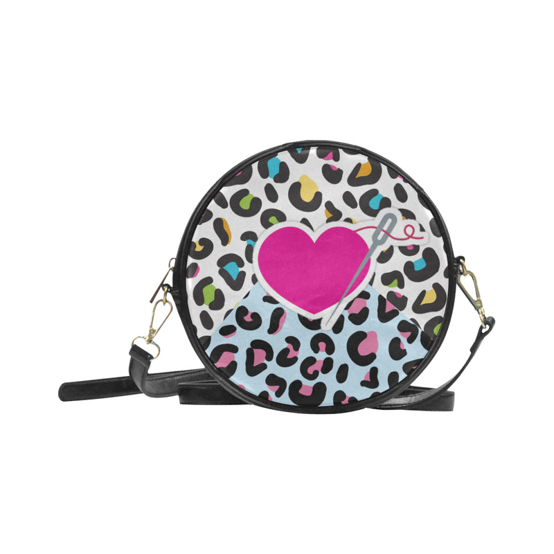 MIXIES ROUND CROSS BODY PURSE - 3 STYLES