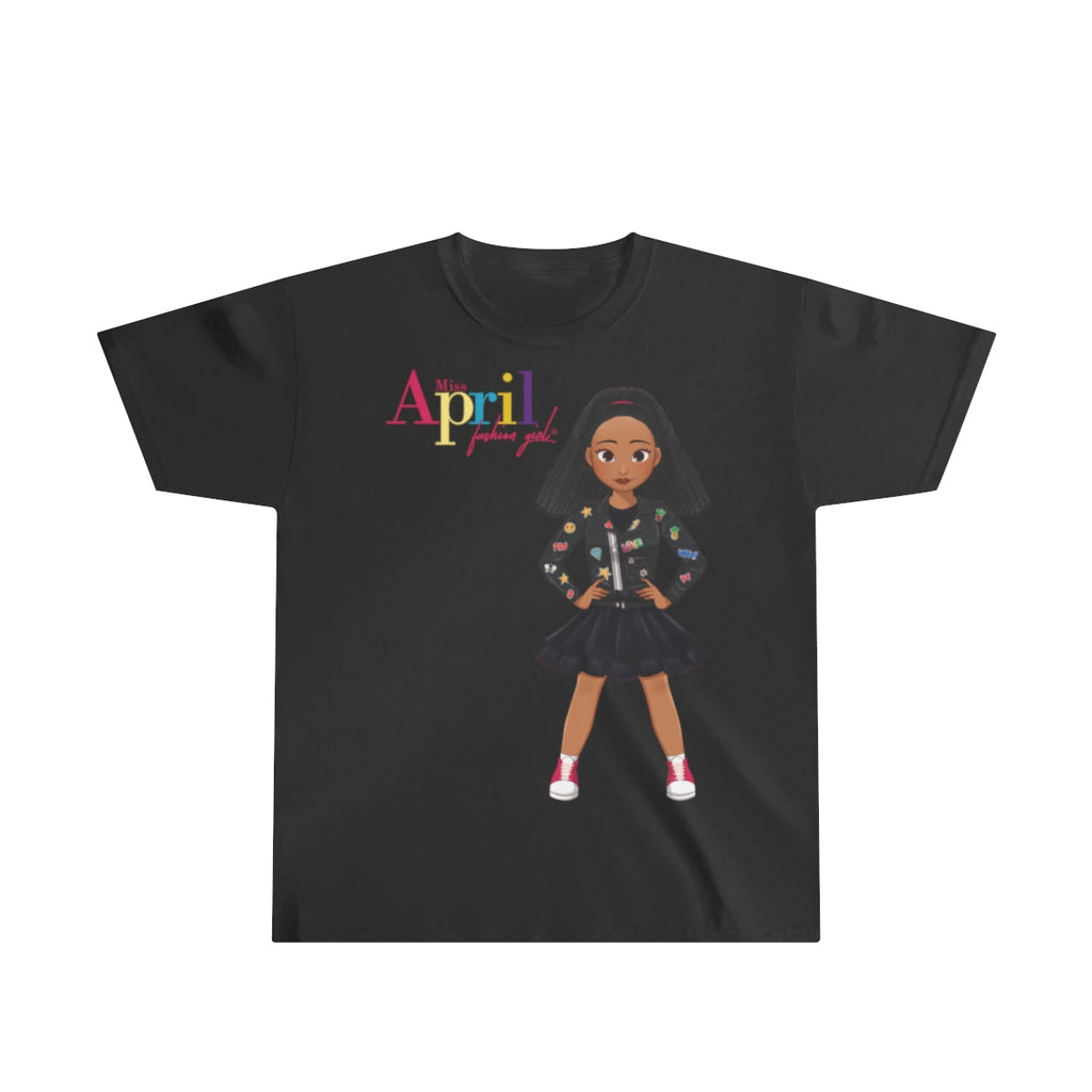 MISS APRIL Youth Ultra Cotton Tee