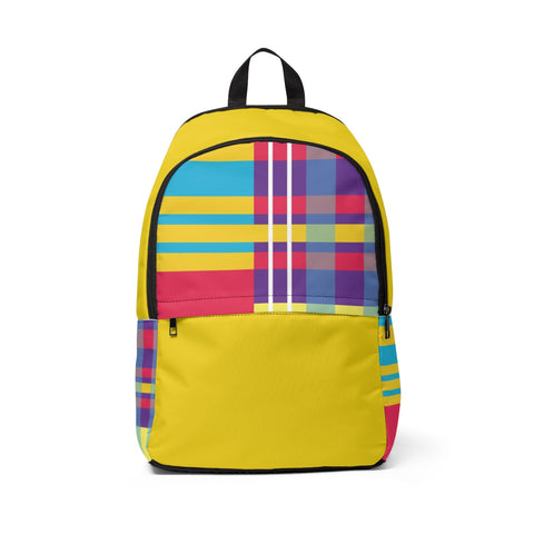 MERRY PLAID Backpack (gold)
