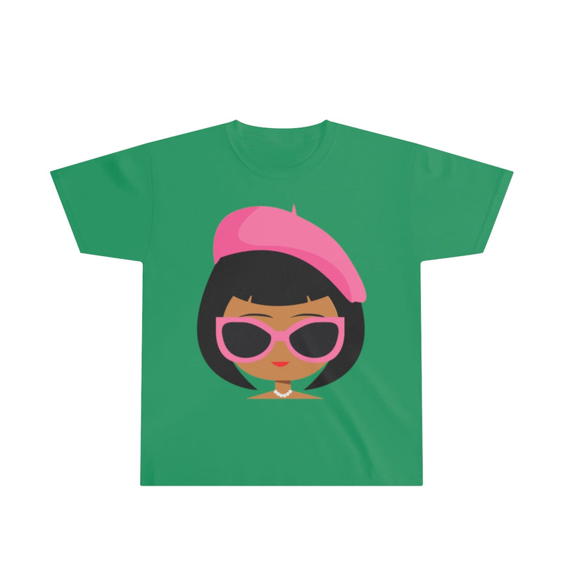 BOUGIE GIRLS (brown) Youth Ultra Cotton Tee