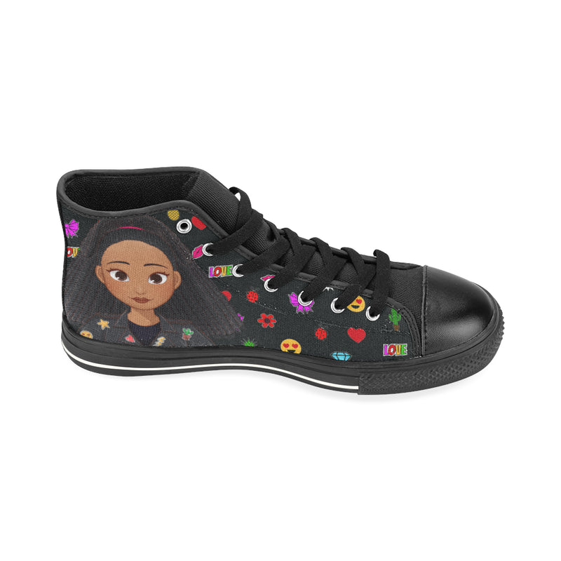 MISS APRIL HIGH TOP CANVAS GIRLS' SNEAKERS