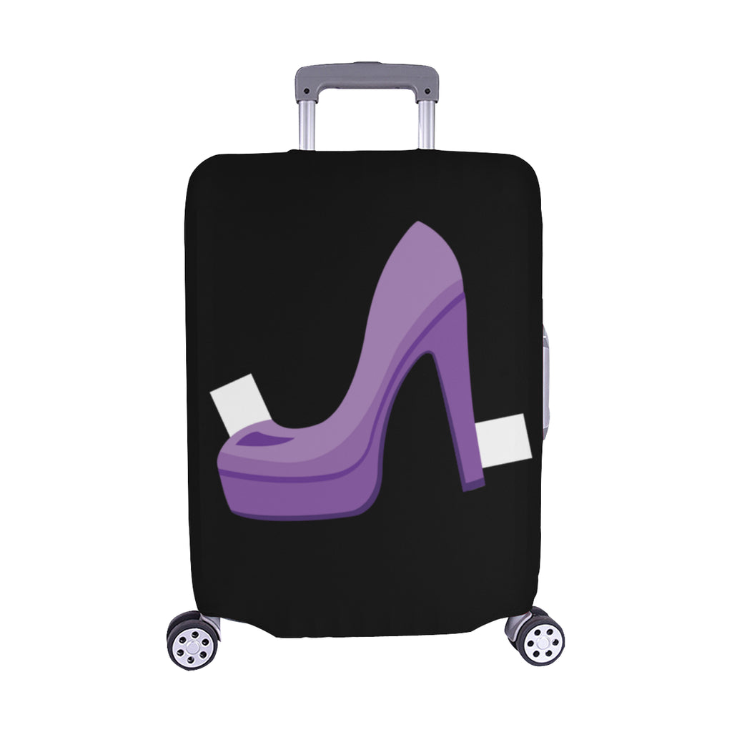 PAPER DOLL SHOE LUGGAGE COVER - MEDIUM