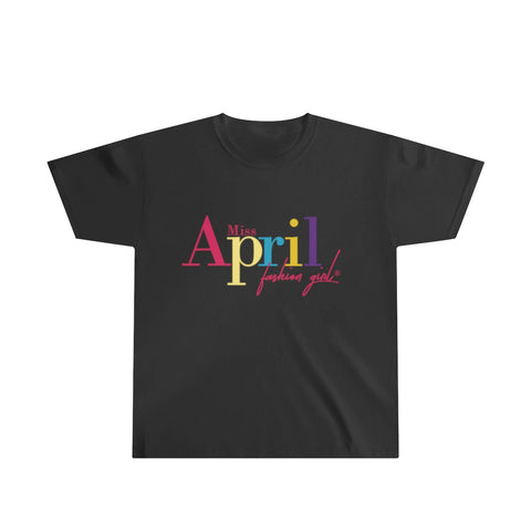 MISS APRIL FASHION GIRL Youth Ultra Cotton Tee