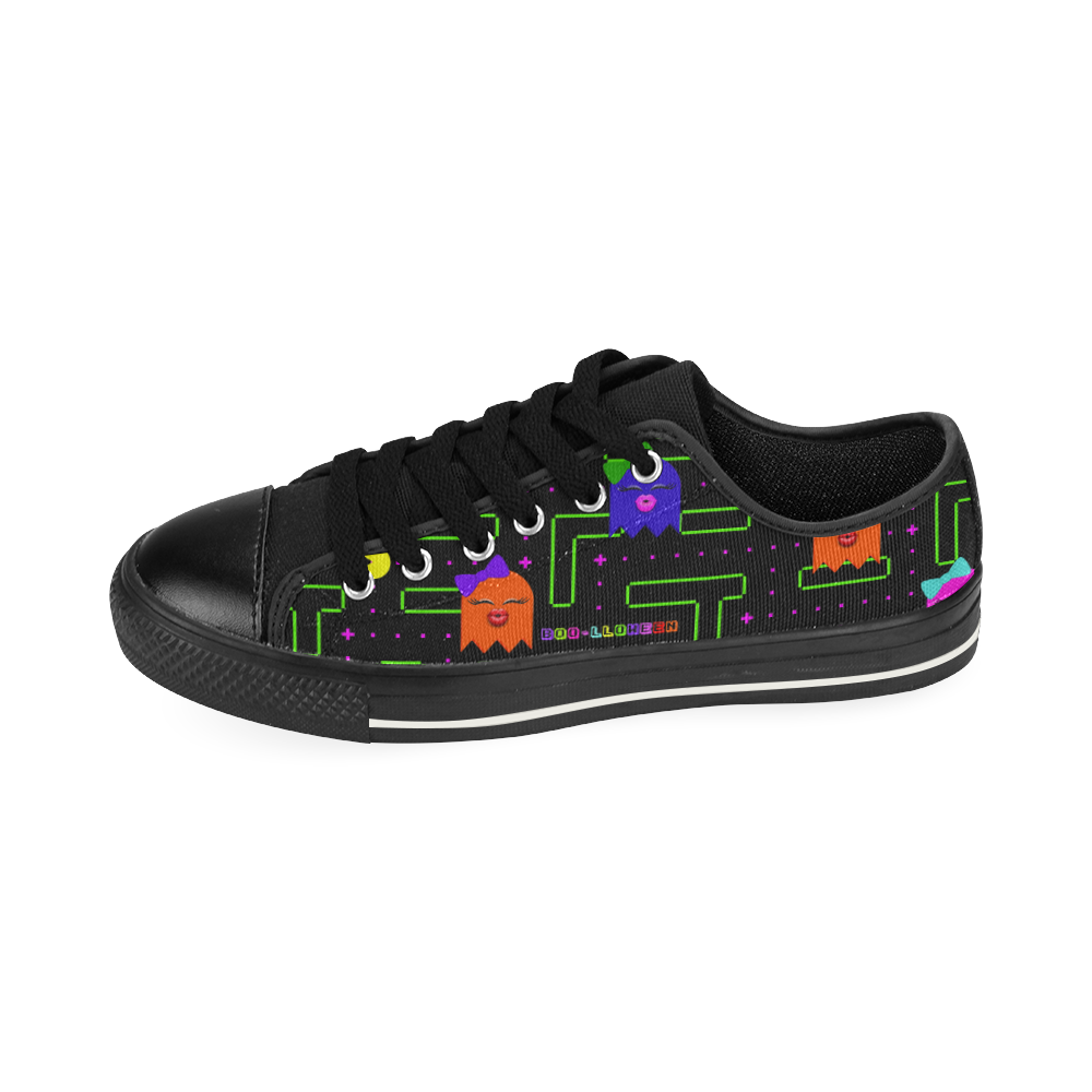 BOO-LLOWEEN LOW TOP CANVAS GIRLS' SNEAKERS