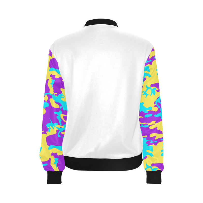 COOL CAMO LIGHTWEIGHT BOMBER JACKET