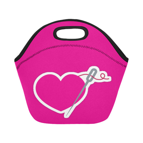 I LOVE FASHION SMALL NEOPRENE LUNCH TOTE
