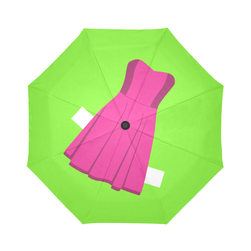 PAPER DOLLS AUTO FOLDING UMBRELLA- 6 STYLES