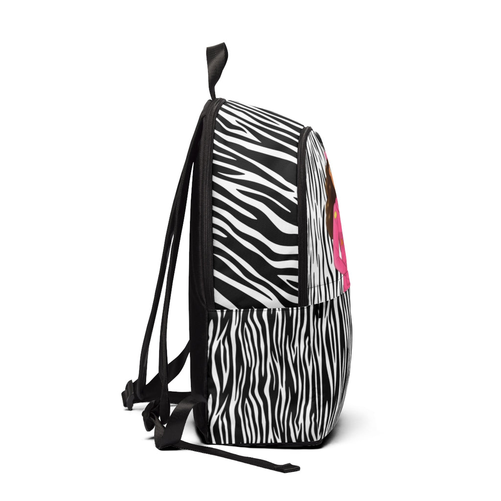 MISS CAMILA ZEBRA BACKPACK