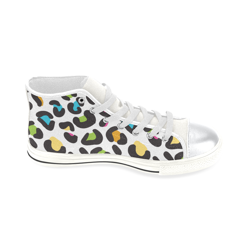 CABOODLE HIGH TOP CANVAS GIRLS' SNEAKERS