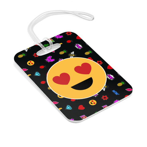EMOJI PATCHES BAG TAG