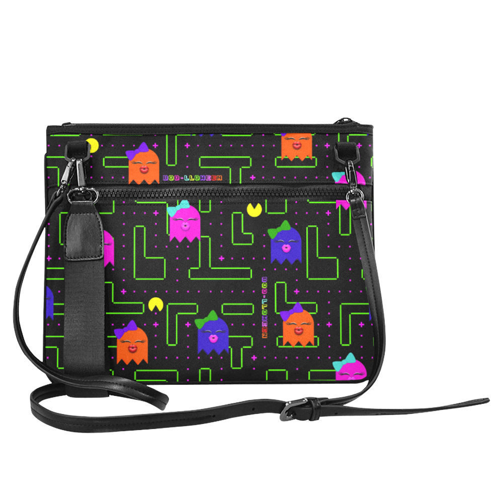 BOO-LLOWEEN SLIM CROSS BODY PURSE